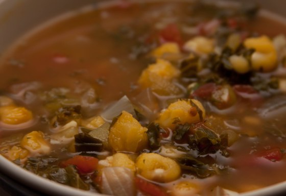 Vegan Posole Soup